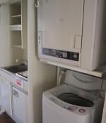 洗濯機・乾燥機付き(キッチン)